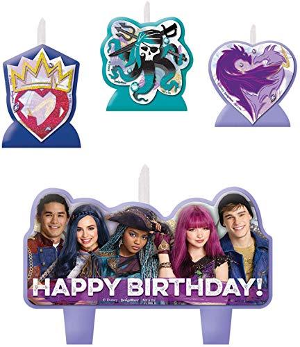 Disney Descendientes 2vela de cumpleaños Set
