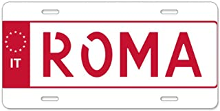 CafePress dise/ño de Bandera de Polonia Aluminio Placa de Licencia/ Frontal Placa de Licencia /matr/ícula de Aluminio tocador Etiqueta