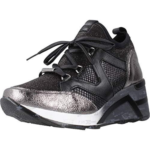 Calzado Deportivo para Mujer, Color Negro Grafito, Marca CETTI, Modelo Calzado Deportivo para Mujer CETTI C1204 Negro Grafito
