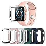 OMEE 6 Pièces Apple Watch Coque 38mm Series 3/2/1 avec protecteur d'écran en verre...