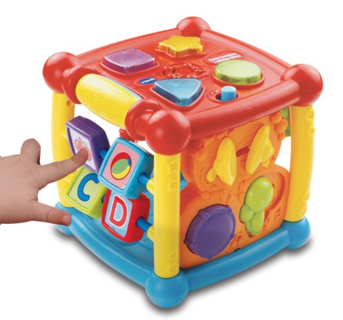 VTech- Kid Baby Cube d'éveil, 80-150505