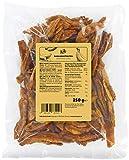 KoRo - Getrocknete Bananenstreifen 250 g - Trockenfrüchte ungeschwefelt und zuckerfrei - Veganer Powersnack