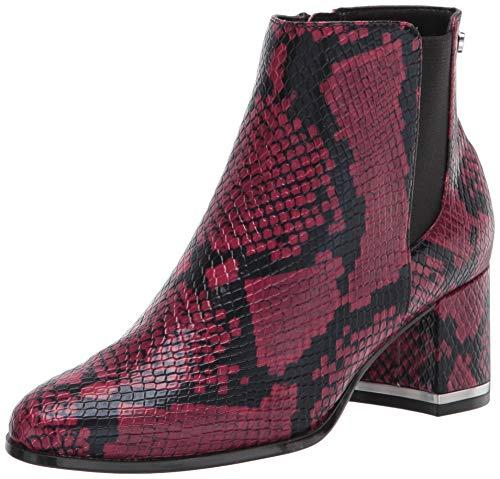 Calvin Klein Women's FIORANNA Ankle Boot, Rhododendron, 2.5 UK