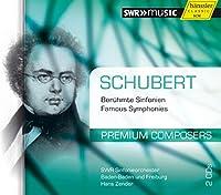 プレミアム・コンポーザーズ Vol.10 - シューベルト交響曲集 (Schubert : Symphony No.4, 6, 7, 8 / Hans Zender, SWR Sinfonieorchester Baden-Baden und Freiburg) (2CD) [輸入盤]