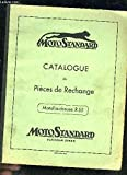 CATALOGUE DE PIECES DE RECHANGE - MOTOFAUCHEUSE R55 - MOTO STANDARD