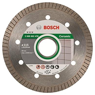 Foto di Bosch Professional Best Extraclean Turbo Disco Diamantato 115/22.2 mm
