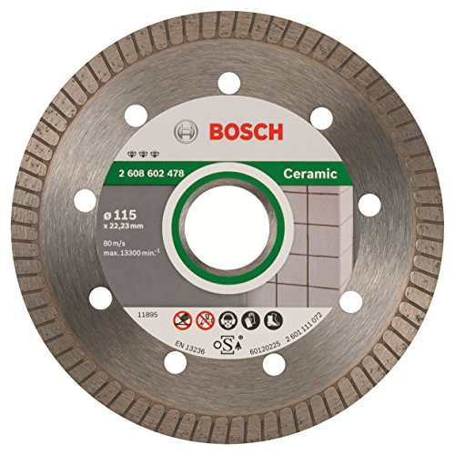 Bosch Professional - Disco de corte de diamante Best for Ceramic Extra-Clean Turbo,...