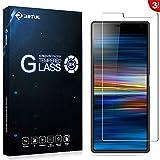RIFFUE Panzerglas für Sony Xperia 10+, Sony Xperia 10 Plus Schutzfolie, 9H Gehärtete HD Bildschirmschutzfolie Screen Protector Tempered Glass Folie 6.5
