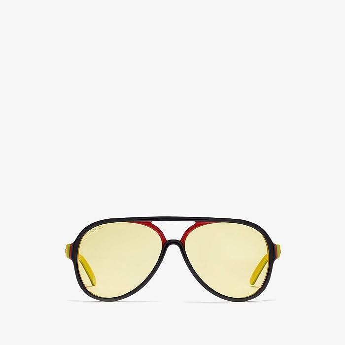 Gucci  GG0270S (Black) Fashion Sunglasses
