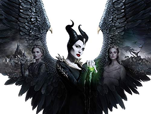 32inch x 24inch/79cm x 60cm Maleficent Mistress of Evil Silk Poster