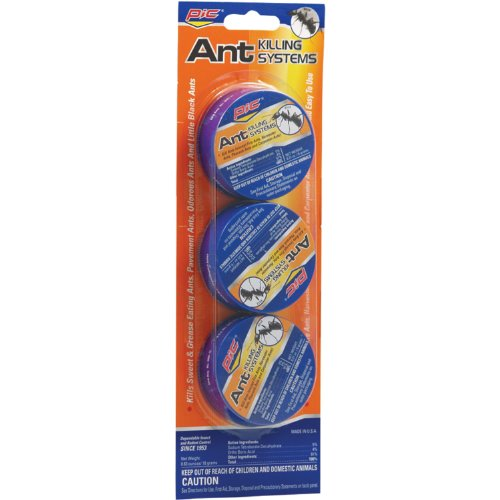 PIC AT3 Indoor/Outdoor Metal Ant Traps (24 Pack of 3)