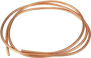 comprar comparacion Akozon Tubo de freno de cobreT2, 2M, OD 6 mm x ID 4 mm, para tuberías de refrigeración para generadores, cables