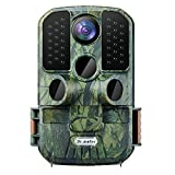 """6. 24MP 1080P Trail Camera, Dr.meter 120° Wide Angle Hunting Camera with 0.3s Trigger Time and 2.4"""" LCD, 850nm Infrared Flash Technology Hunting Scouting Cam with 45 Leds Night Vision and IP66 Waterproof"""