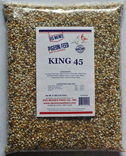 King 45 Pigeon Mix (17%) 8 lbs