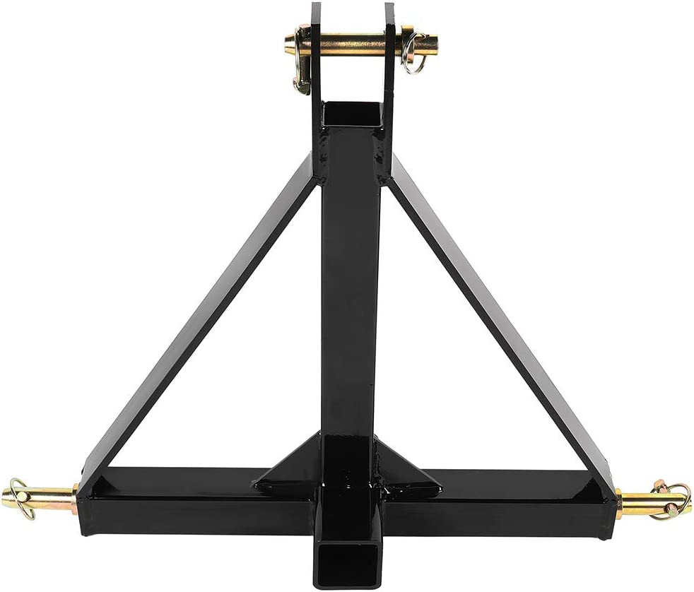 3 Point Limited time for free shipping New item Drawbar Adapter for Powder Trailer Hitch Reciver Tractor