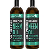 Wishcare® Cold Pressed Neem Oil - 100% Pure Wild Crafted - For Skin