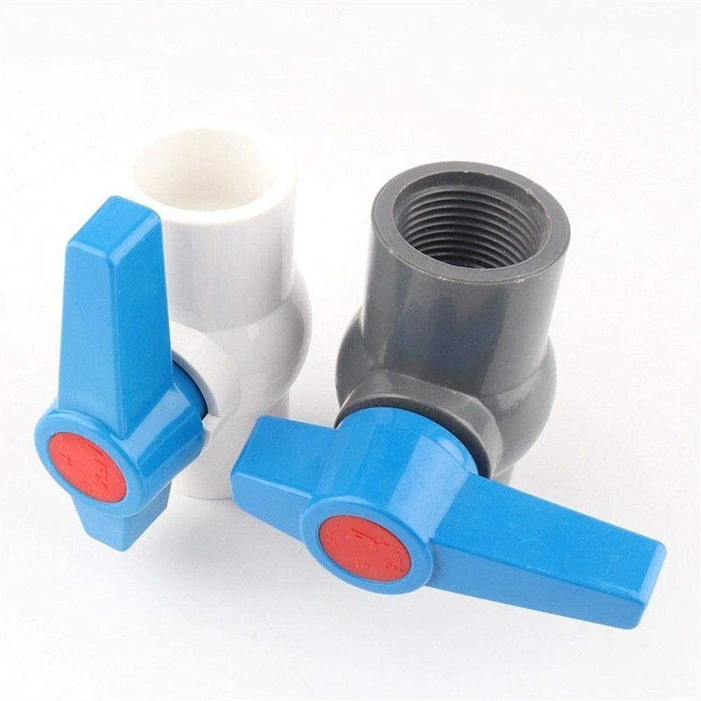 Size : Inner Dia.40mm ZEFS--ESD Accessories Repair Accessories 10pcs PPH I.D 20mm-50mm Connector 45 Degrees Elbow Aquarium Fish Tank Pipe Joints Garden Water Connectors Tube Joint