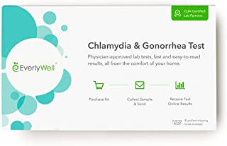 Everlywell Chlamydia and Gonorrhea Test - at Home - CLIA-Certified Adult STD Test - Discreet, Accurate Urine Analysis - Re...