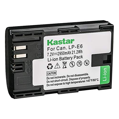 batería canon 6d mark ii fabricante Kastar