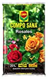 Compo Sana Rosales con 8 semanas de abono, Substrato de Cultivo, 20 L, 56x32x8 cm