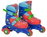PJ Masks Patines en línea de Aprendizaje Tri-Skate, 31-34 (Amijoc Toys 2943)