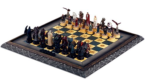 Eaglemoss Lord of The Rings Chess Collection Complete Set