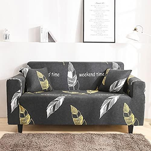PPOS Funda de sofá elástica para sillón Funda de sofá Ultrafina para Sala de Estar Funda de sofá Universal Slier A4 4 plazas 235-300cm-1pc