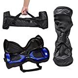 GameXcel Self-Balancing Scooter Carrying Handbag Bag for 6.5' 7' and 8' Two-Wheel Hover Board Bag Smart Balancing Scooters Storage Durable Oxford Fabric Portable Carrying Bag Black