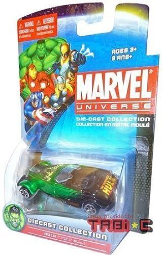 HULK (Grün & schwarz CHRYSLER PROWLER) Marvel Universe Diecast Collection 1 64 scale car by Maisto by Maisto