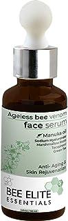 Best Anti Aging Serum : AGELESS BEEVENOM FACE SERUM - 1 fl.Oz   30 ml   Anti Wrinkle Collagen Booster : Vitamin C, Hyaluro...