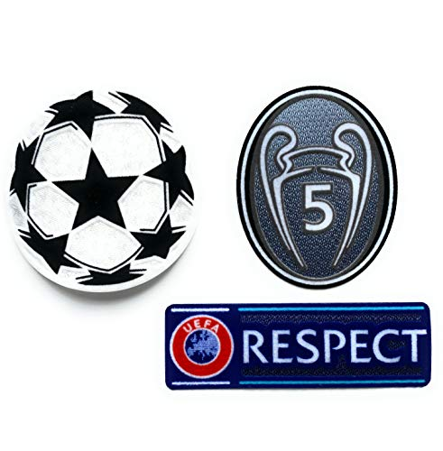 UEFA Champions League Patch Kit - FC Barcelona, Bayern München - Liverpool