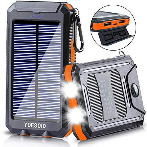 YOESOID Portable Solar Power Bank review