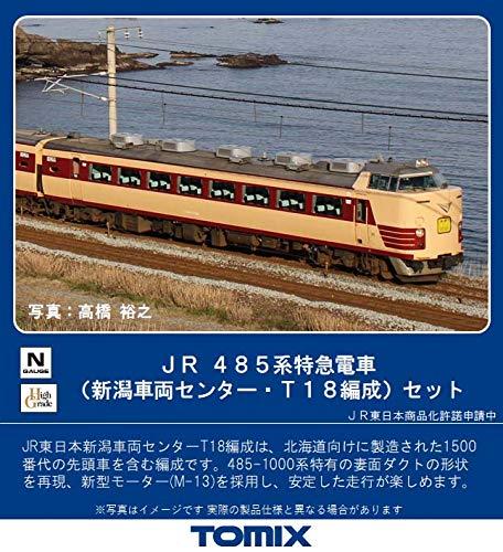 TOMIX Nゲージ 485系 新潟車両センター・T18編成 セット 6両 98711 鉄道模型 電車
