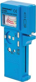 Silverline 633909 Testeur de piles, fusibles et ampoules 1,5 V – 9 V
