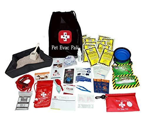 Pet Evac Pak, LLC Premium Cat Emergency Survival Kit Without...