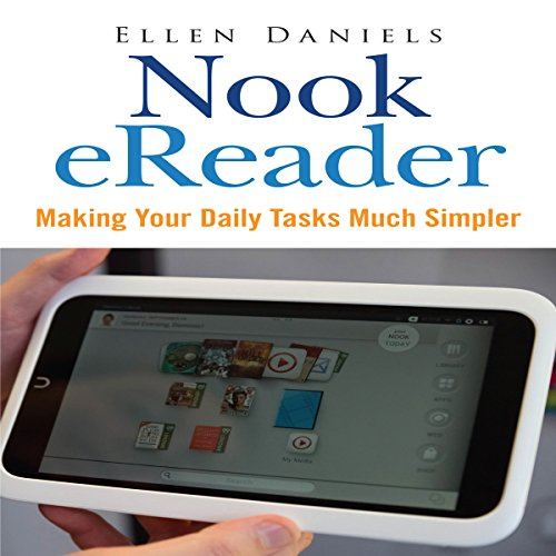 Nook eReader audiobook cover art