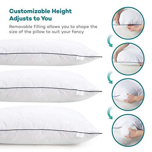 Sable Adjustable Soft Pillows