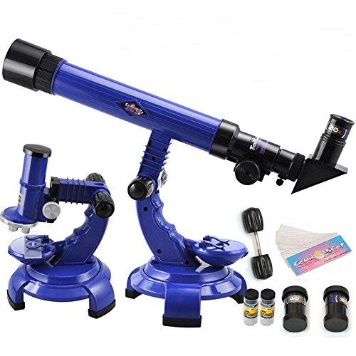 verde 1pcs creativo port/átil Microscopio Microscopio juguete educativo para los ni/ños de los ni/ños de Primera Principiante Microscopio para Ni/ños Estudiantes