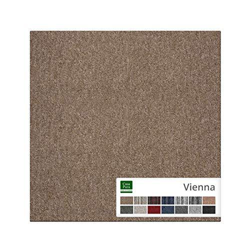 casa pura Carpet Tile Vienna - Baldosas Adhesivas para alfombras 50x50 cm...