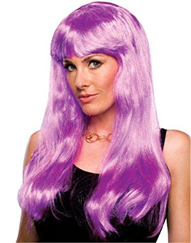 Rubies Perruque Glamour - Costume Adulte Fantaisie - Magenta