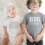 """T-shirt /""""Im The Big Brother/"""" taglie da 0-6 mesi a 14-15 anni colore blu"""