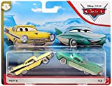 ACTION Cars 1:55 Scale Die Cast Car Set Flo and Nicky B