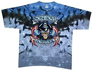 Liquid Blue Men's Bon Jovi Forever Short Sleeve T-Shirt