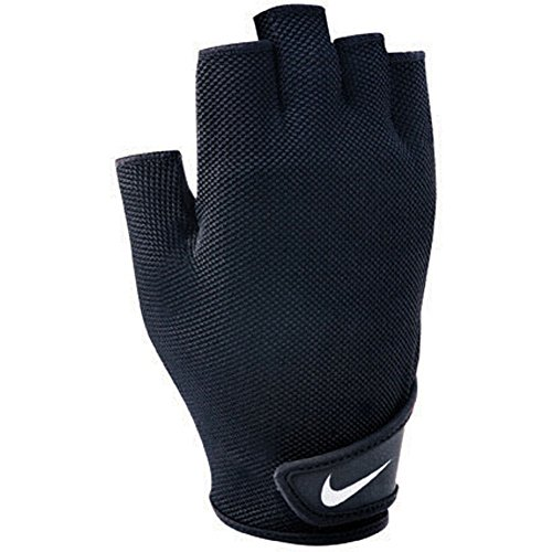 Nike Guantes de gimnasio para hombre Fundamental Training Glove II (negro, S)