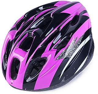 Jackys Bicycle Helmet, Mountain Bike 18 Vents Ultralight Riding Helmet Adjustable Outdoor Sports Riding Equipment,Purple