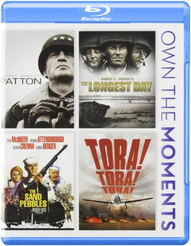 Patton   The Longest Day   The Sand Pebbles   Tora! Tora! Tora! [Blu-ray]