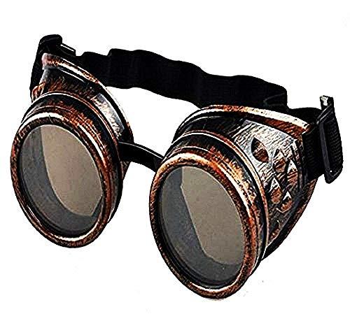 Occhiali da Sole Vintage - Steampunk - Vittoriani - Epoca - Bronzo - Idea Regalo Natale e Compleanno