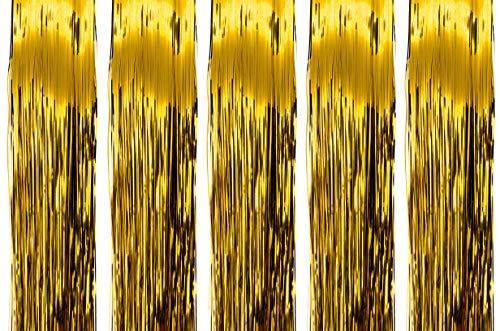 Humbert und Brandt Lametta 50 cm Gold (5)