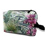 Bolsa de cosméticos para mujeres, bolsas de maquillaje de viaje, bolsas de aseo espaciosas y organizadoras con cremallera