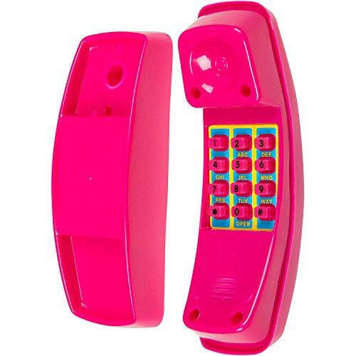 Swing Set Stuff Telephone with SSS Logo Sticker, Pink